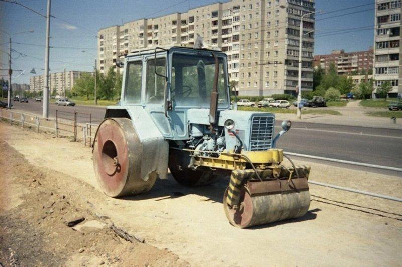 Необычные варианты белорусских тракторов, о которых мало кто знает МТЗ, авто, автомобили, беларусы, сельхозтехника, спецтехника, трактор