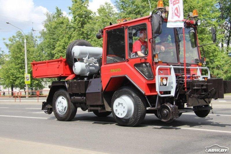 """Самый экзотический вариант """"шасси универсального"""" - локомобиль. МТЗ, авто, автомобили, беларусы, сельхозтехника, спецтехника, трактор"""