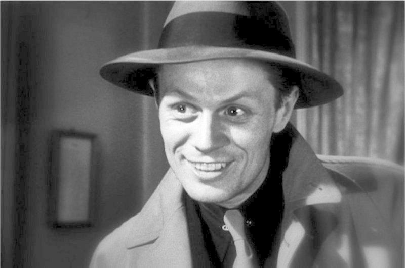 1. Томми Удо (актёр: Ричард Уидмарк), «Поцелуй смерти» (Kiss of Death, 1947) porter, актеры, кино, люди, психопаты, фильм