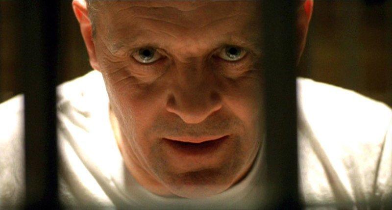 3. Ганнибал Лектер (актёр: Энтони Хопкинс), «Молчание ягнят» (The Silence of the Lambs, 1991) porter, актеры, кино, люди, психопаты, фильм