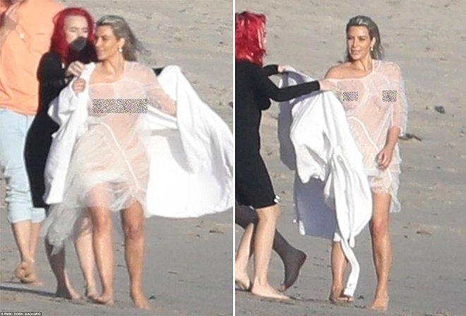 Ким Кардашьян снова показала свои прелести голые знаменитости, интересное, ким кардашян, модель, новости, фото