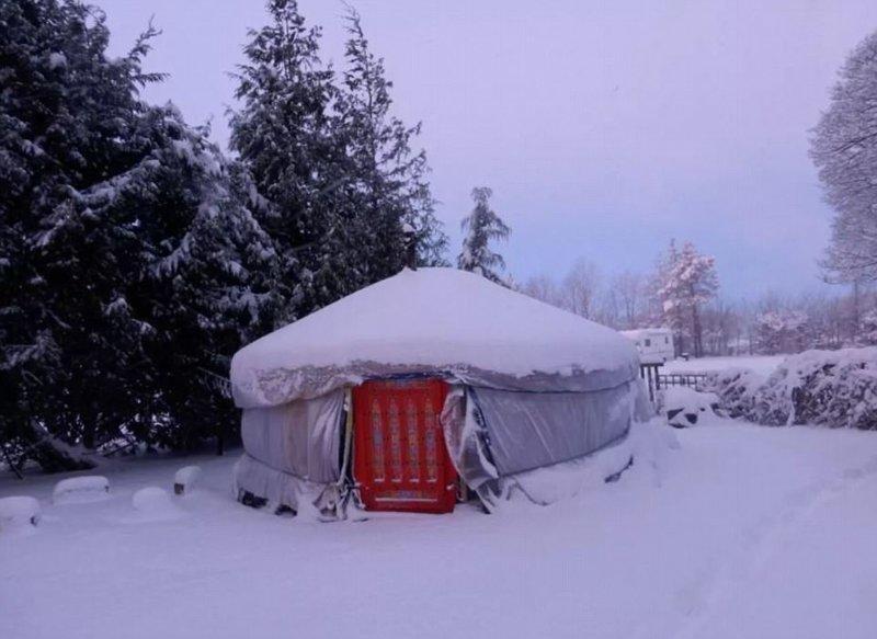 Монгольская юрта со всеми удобствами в национальном парке Пик-Дистрикт Airbnb, аренда, аренда жилья, великобритания, необычное жилье, необычные дома, путешествия, туризм