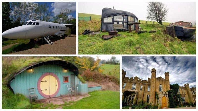 Самые необычные дома Великобритании от сервиса аренды Airbnb Airbnb, аренда, аренда жилья, великобритания, необычное жилье, необычные дома, путешествия, туризм
