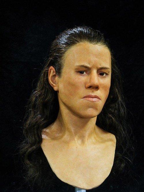 Ученые воссоздали лицо девушки, жившей 9 тысяч лет назад лица, мезолит, реконструкция