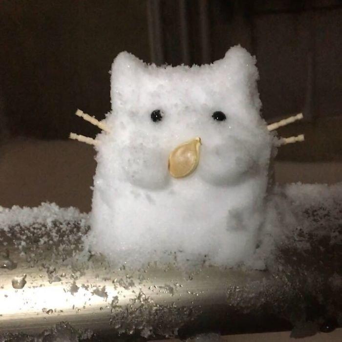 17. снег, снеговик, снеговик - в каждый двор, снеговики, снегопад, снежные, фигуры из снега, япония