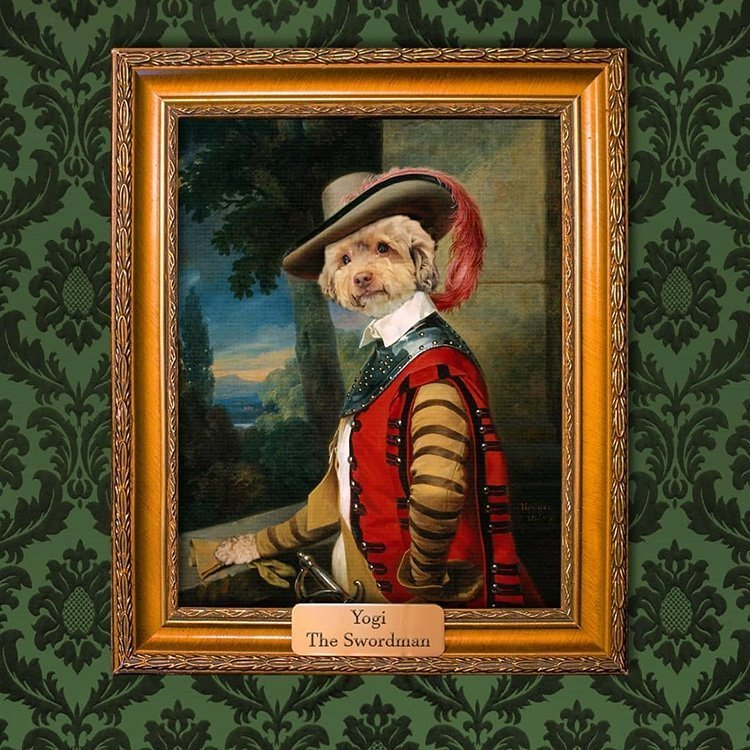 Создай королевский портрет своего питомца! животные, забавно, королевское достоинство, кошки, парадные портреты, портрет питомца, собаки, творчество