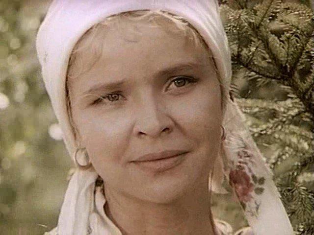 Тамара Семина - Анфиса Инютина СССР, кино, телеэпопея