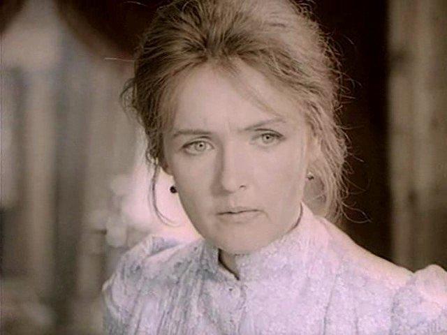 Ада Роговцева - Анна Кафтанова, жена Федора Савельева. СССР, кино, телеэпопея