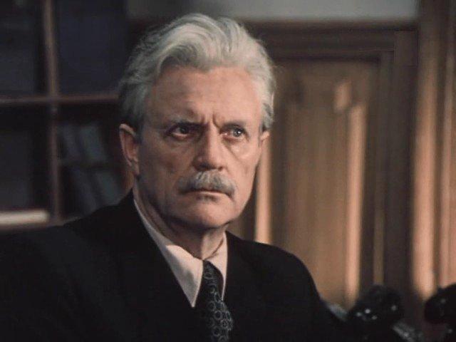 Николай Еременко (старший) - Иван Михайлович Субботин. СССР, кино, телеэпопея
