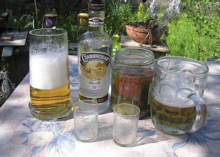 «Ёрш» СССР, алкоголь, интересное, напитки, пиво, советский союз