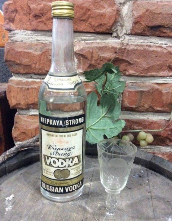 Ну и конечно же водка! СССР, алкоголь, интересное, напитки, пиво, советский союз