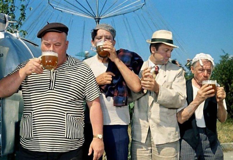 И пили люди прямо на улицах, не стесняясь никого СССР, алкоголь, интересное, напитки, пиво, советский союз