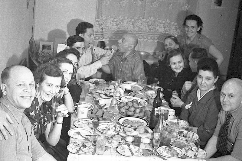А вот оно, застолье! СССР, алкоголь, интересное, напитки, пиво, советский союз