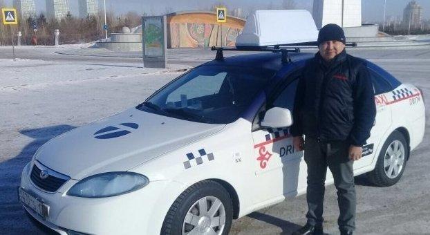 На время морозов столичные такси стали бесплатными ynews, забота, зима, казахстан, мороз, пассажир, погода, такси