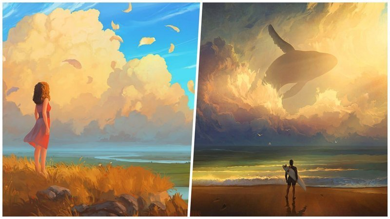 Омский художник пишет потрясающие картины в жанре цифровой живописи артём чебоха, искусство, картины, цифровая живопись