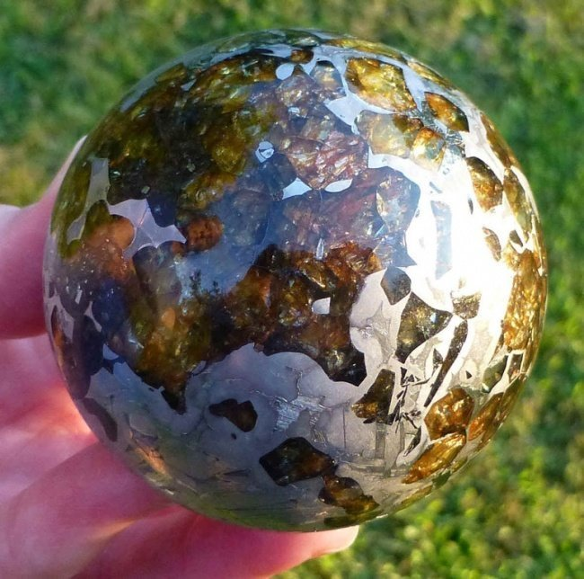 Отполированный до безобразия метеорит. взгляд изнутри, необычные вещи, новый ракурс, фото