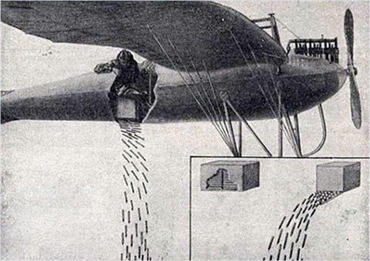 Неизвестное оружие Первой мировой Флешетта, война, оружие, первая мировая, стрелки