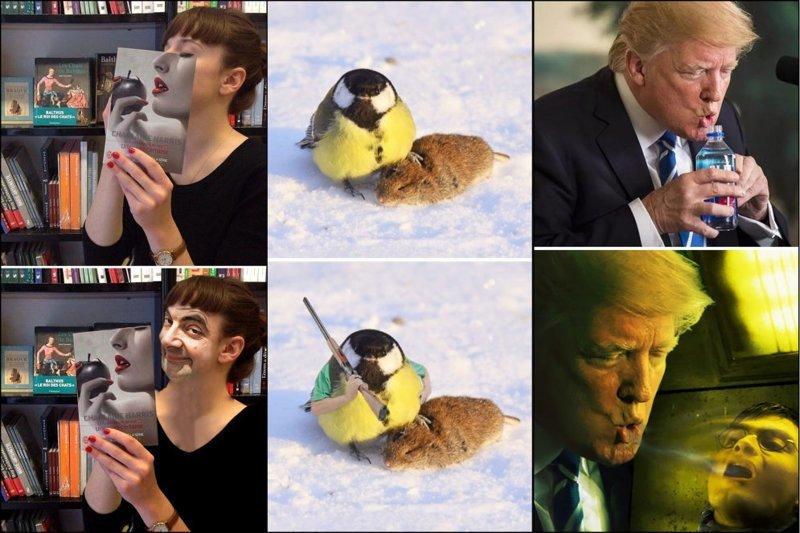 """Как правильно """"фотошопить"""" фото? Вот вам 22 крутых и смешных примера животные, забавно, люди, подборка, фотошоп, юмор"""