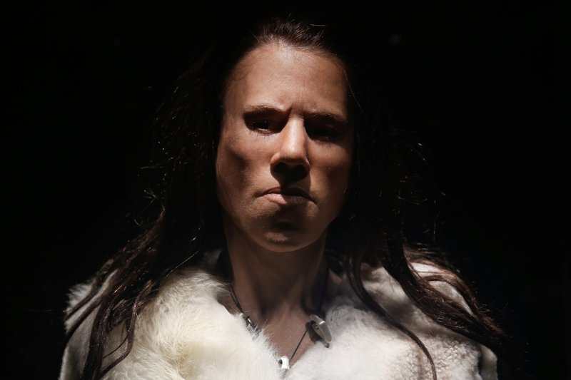 Ученые восстановили лицо девочки-подростка, жившей 9 000 лет назад и она оказалась очень суровой в мире, греция, девушка, наука, подросток, ученные