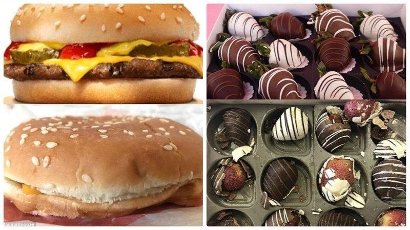 Доставка еды на дом: ожидание и реальность Reddit, доставка еды, еда, обломы, ожидание и реальноость, полный провал, разочарования, смешные картинки