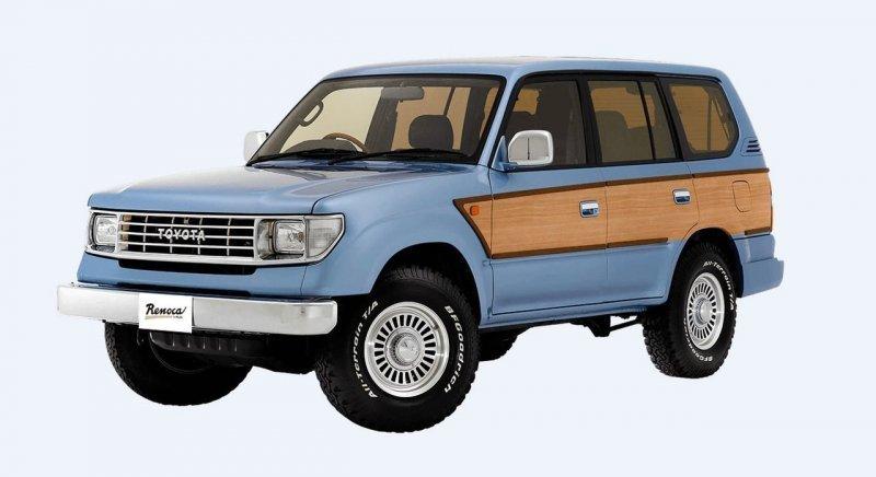 Новый Land Cruiser в старом кузове: олдскульные версии современных авто land cruiser, toyota, авто, автомобили, автотюнинг, внедорожник, копия, тюнинг
