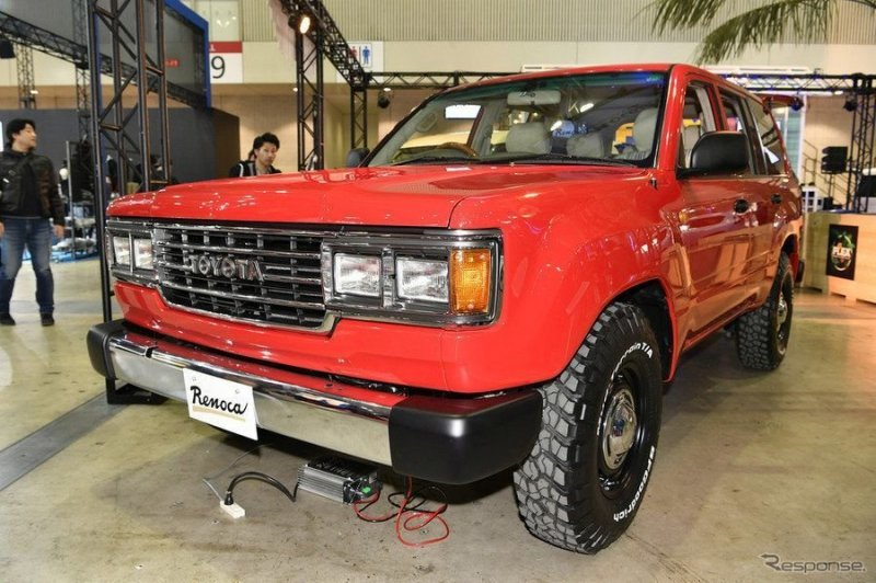 5. Toyota Land Cruiser 100 land cruiser, toyota, авто, автомобили, автотюнинг, внедорожник, копия, тюнинг