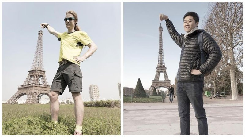 Увидеть Париж и умереть: фотосравнения Парижа и его китайской копии китай, китайцы молодцы, копия, копия реплика, париж, сравнение, фотопроект, эйфелева башня