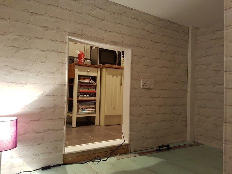 Вид из комнаты идея, интерьер, комната, лестница, своими руками, собака, строительство