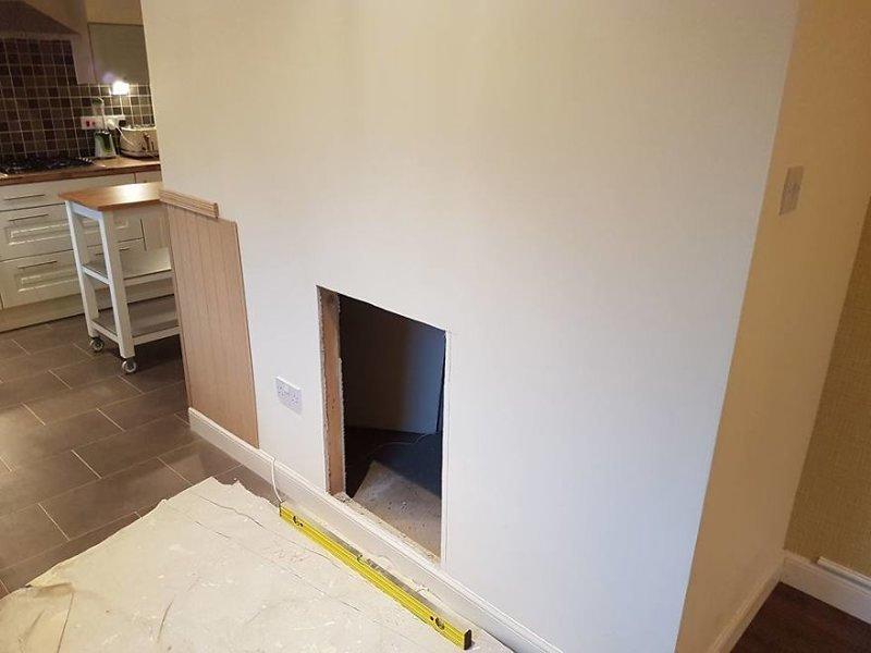 С этого все и началось идея, интерьер, комната, лестница, своими руками, собака, строительство
