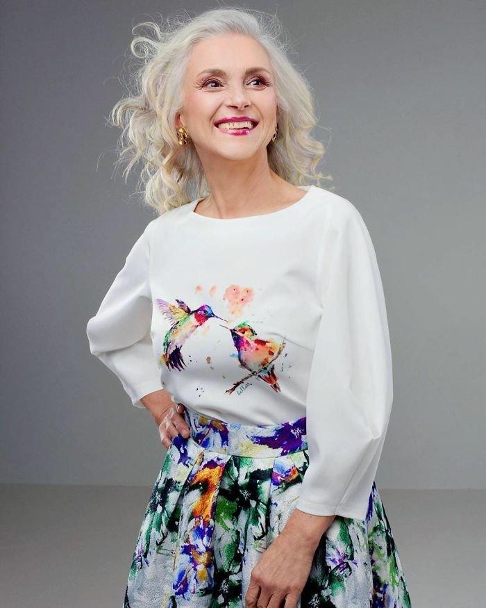 30. Татьяна Неклюдова, 61 год агентство, возраст, мир, мода, модель, пенсионер, россия
