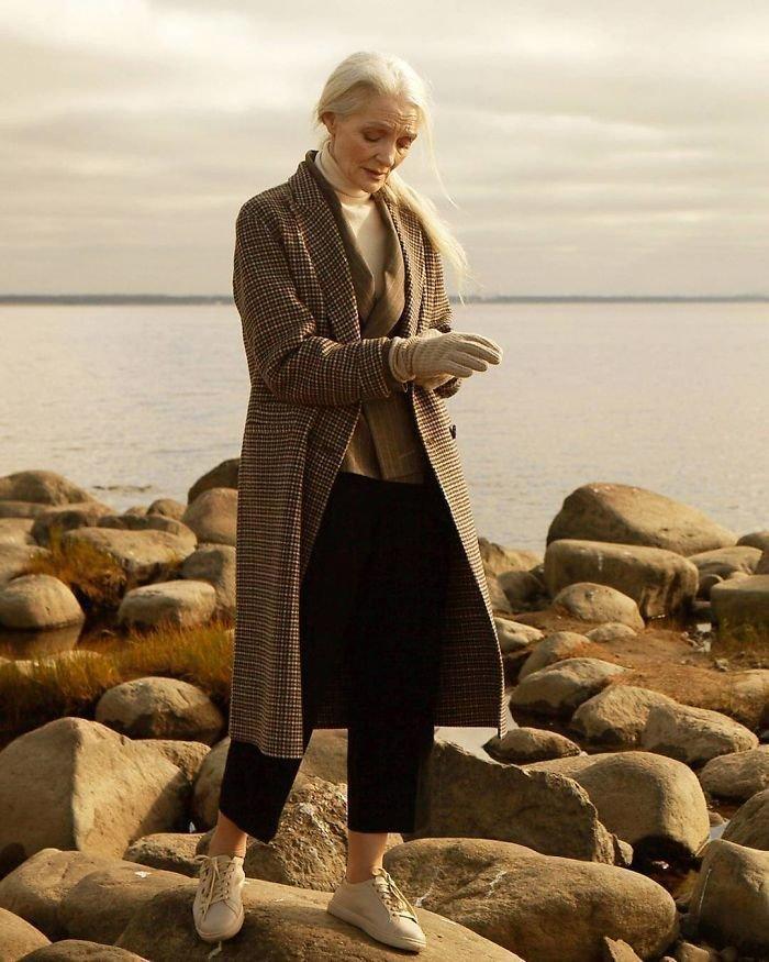 23. Валентина Ясень, 62 года агентство, возраст, мир, мода, модель, пенсионер, россия