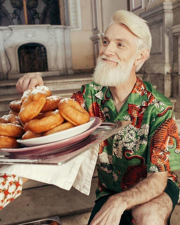 25. Сергей Арктика, 46 лет агентство, возраст, мир, мода, модель, пенсионер, россия