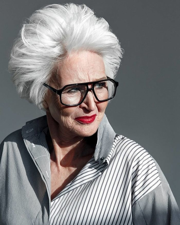 15. Нина Ивановна, 75 лет агентство, возраст, мир, мода, модель, пенсионер, россия