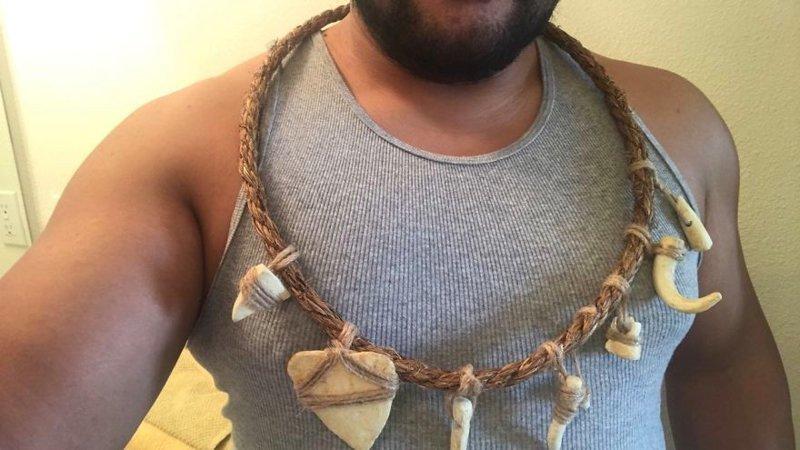 Американец сделал косплей на здоровяка Мауи из «Моаны» Моана, косплей, мультики, мультфильм, пародия, своими руками, творчество, фото