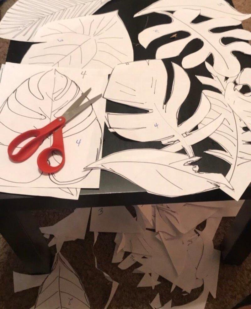 Затем парень смастерил юбку Мауи из листьев Моана, косплей, мультики, мультфильм, пародия, своими руками, творчество, фото
