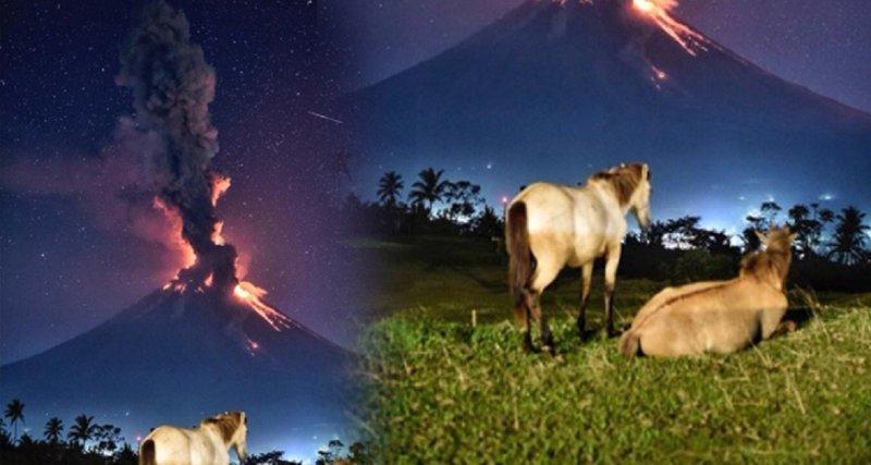 Красота катастрофы: на Филиппинах началось извержение вулкана Лусон, вулкан Майон, завораживающее зрелище, извержение вулкана, реакция соцсетей, свидетельства из первых рук, убийственная красота, филиппины