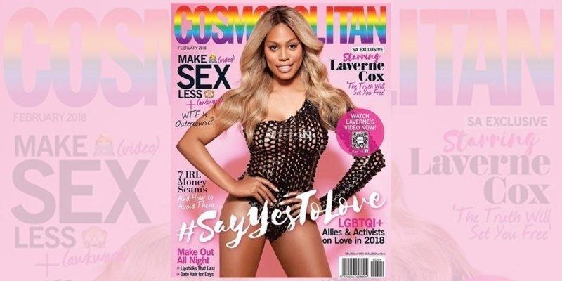 Женщина-трансгендер впервые на обложке Cosmopolitan Cosmopolitan, transgender, в мире, журнал, модель, обложка