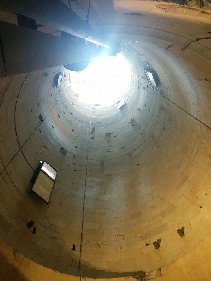 Внутри знаменитой Пизанской башни интересное, интересные фото, неожиданно, подборка, познавательно, редкие фото, секреты, фото