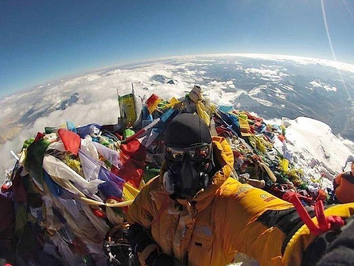 На вершине Эвереста интересное, интересные фото, неожиданно, подборка, познавательно, редкие фото, секреты, фото