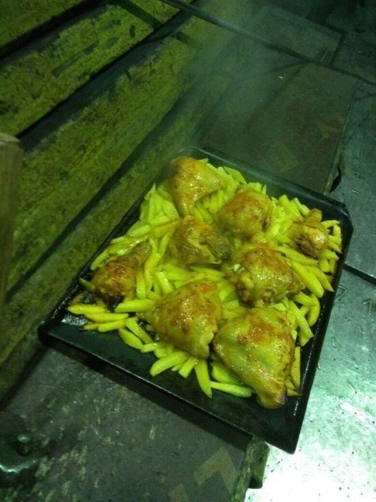 Как готовят обед в прокатном цеху обед, прокатный, цех