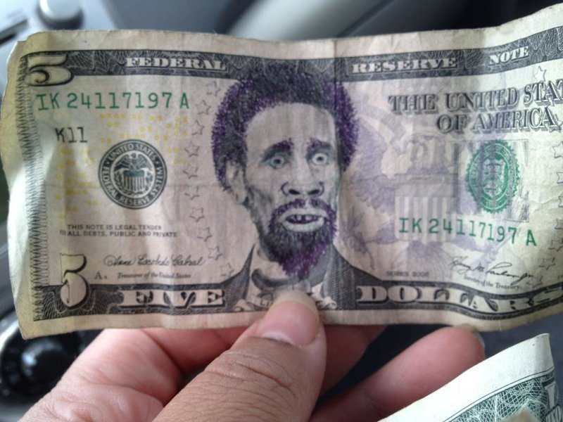 Смешная картинка доллара