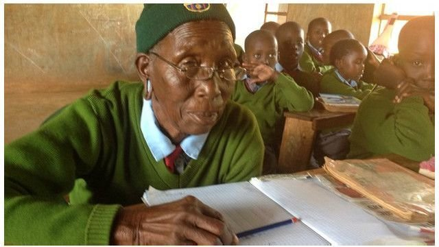 Присцилла, ее еще ласково называют Гого, посвятила большую часть своей жизни воспитанию детей бабушка, возраст, женщина, история, кения, учеба, школа