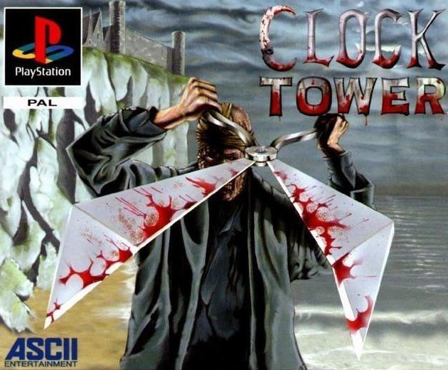 "Clock Tower (англ. ""Часовая башня"") (1996) - Playstation видеоигры, игры, компьютер, компьютерные игры, консоль, крипота, ужасы, хоррор-игры"