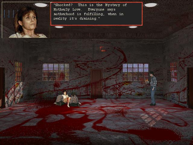 Harvester (1996) - PC, Linux, DOS видеоигры, игры, компьютер, компьютерные игры, консоль, крипота, ужасы, хоррор-игры