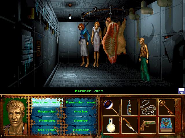 """I Have No Mouth and I Must Scream (""""У меня нет рта, но я должен кричать"""") (1995) - PC, Linux, DOS, выпущена для Android видеоигры, игры, компьютер, компьютерные игры, консоль, крипота, ужасы, хоррор-игры"""