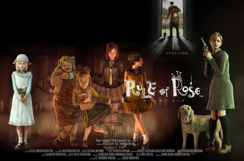 """Rule of Rose (пер. """"Правило розы"""") (2006) - PlayStation 2 видеоигры, игры, компьютер, компьютерные игры, консоль, крипота, ужасы, хоррор-игры"""