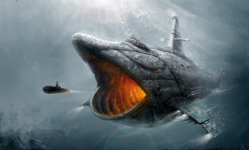 """Самая большая подводная лодка в мире АПЛ """"Акула"""", акула, проект 941, тайфун"""
