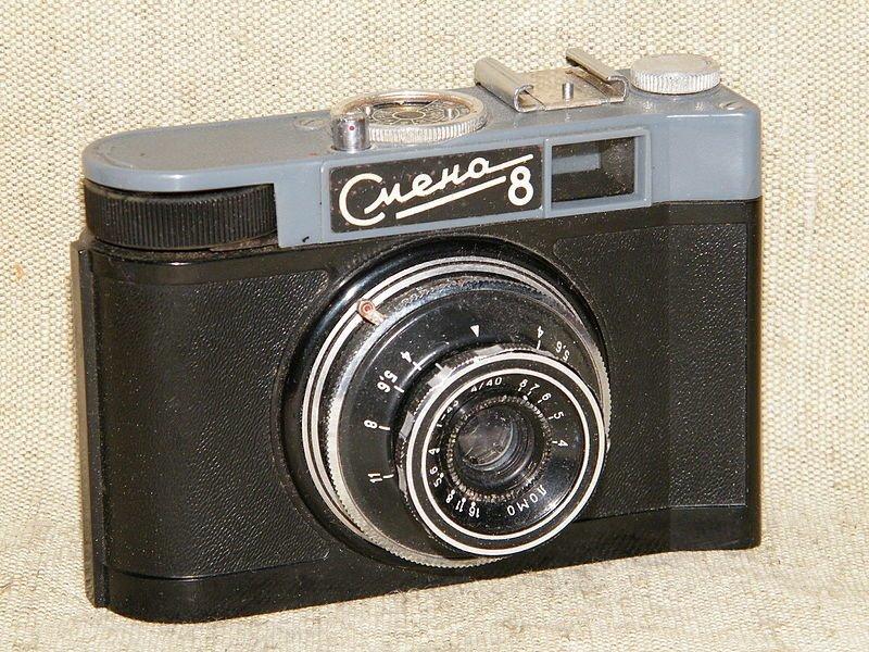 """""""Смена-8"""", 1963-1971 история, смена, фотоаппараты"""