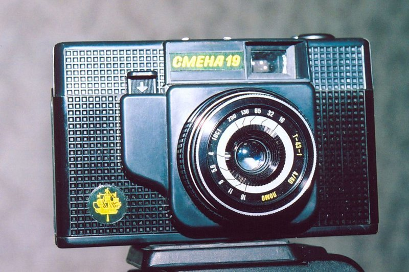 """""""Смена-19"""", 1985-1989 история, смена, фотоаппараты"""