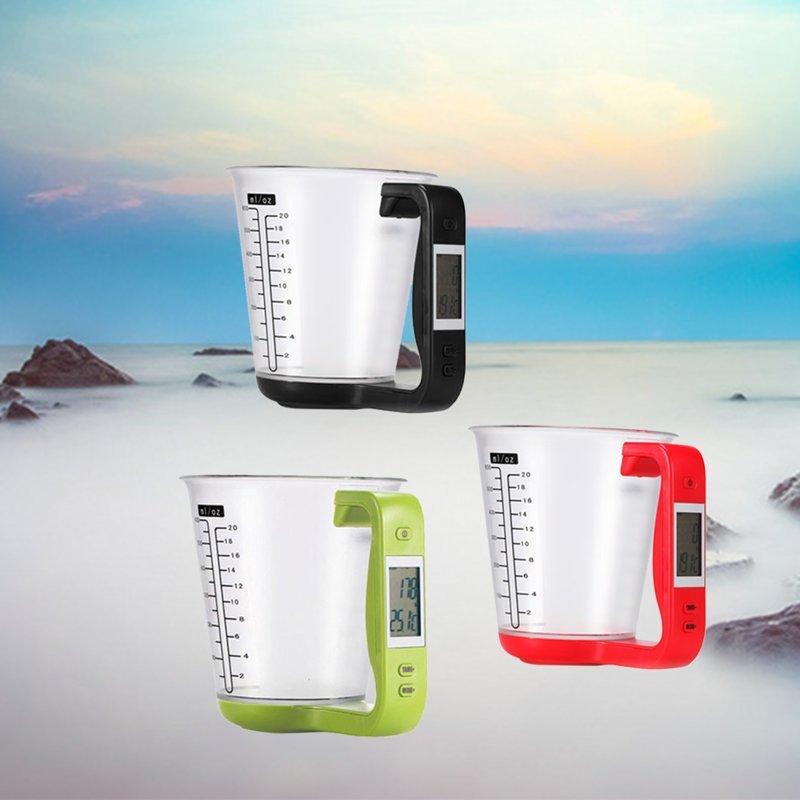 1. Мерный стакан с весами и датчиком температуры aliexpress, вещи, гаджет, дом, женщины, интернет-магазин, подарки